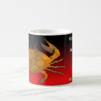 Personalized cancer wood crab by Valxart.com Coffee Mug