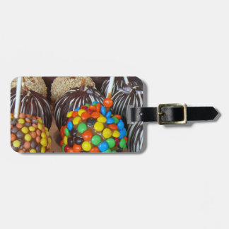 Personalized Candy Apples Luggage Tag