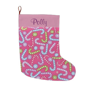 Personalized Candy Cane Stocking