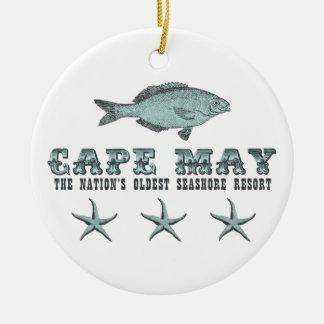 Personalized Cape May Seashore Resort Ornament