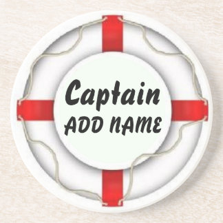Personalized Captain Coaster