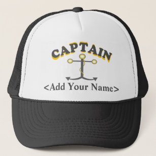 Personalized Captain Hat c463eef0e57a