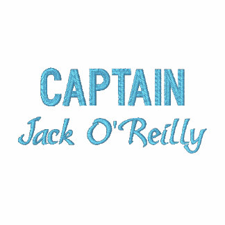 Personalized Captain s Embroidered Shirt
