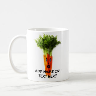 Personalized Carrots Cartoon Coffee Mug
