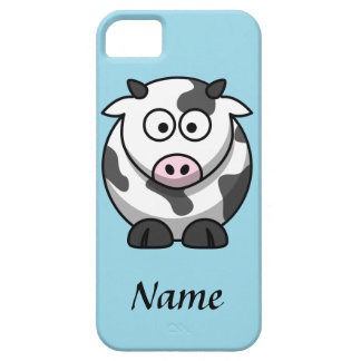 Personalized Cartoon Cow iPhone 5 Cover