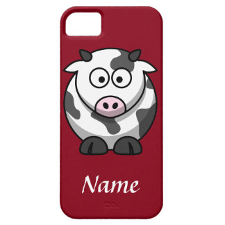 Personalized Cartoon Cow iPhone 5 Case