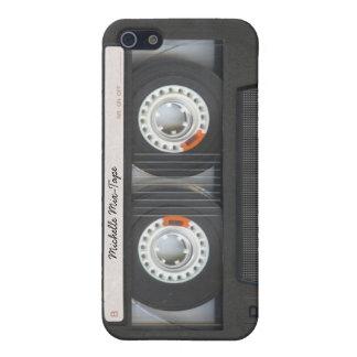 Personalized Cassette Retro Mix-Tape iPhone 5 Case