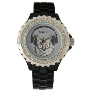 personalized cat dj watch