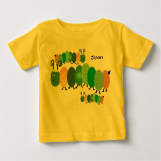 Personalized Caterpillar Baby Shirt