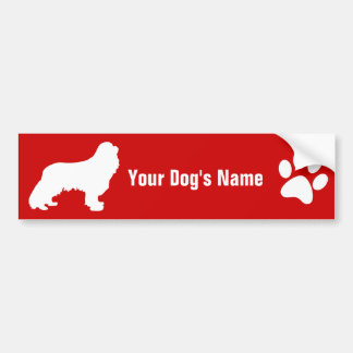 Personalized Cavalier King Charles Spaniel キャバリア Bumper Sticker