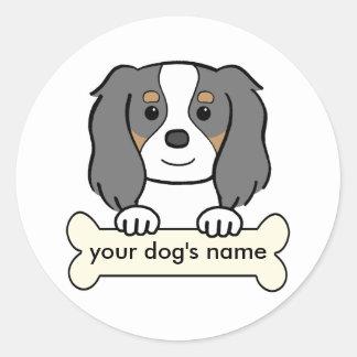 Personalized Cavalier Round Sticker