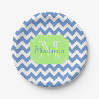 Personalized celebration 7 inch paper plate