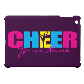 Personalized Cheer Cheerleading Purple iPad Mini Cover