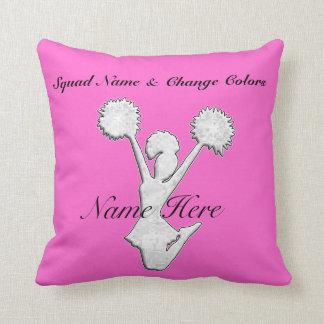 Personalized Cheer Team Gift Ideas Cushion