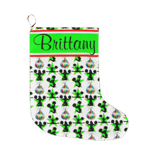 PERSONALIZED CHEERLEADING CHRISTMAS STOCKING