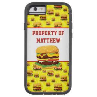 Personalized Cheeseburger Cell Phone Case