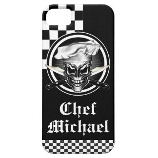 Personalized Chef Skull iPhone Case iPhone 5/5S Cases