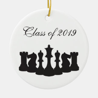 Personalized Chess Graduation Ornament