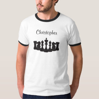 Personalized Chess T-Shirt for Men
