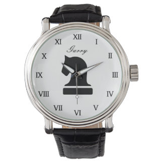 Personalized chess watch gift for adults and kids