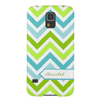 Personalized Chevron Samsung Galaxy S5 Case
