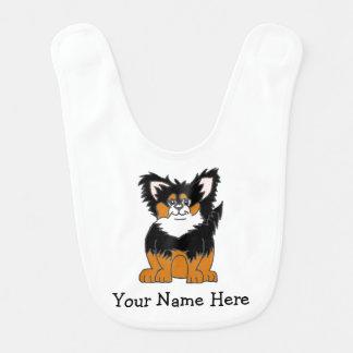 Personalized Chihuahua Puppy Baby Bib
