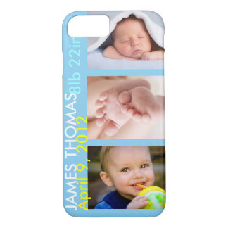 Personalized Child Birth iPhone 7 Case