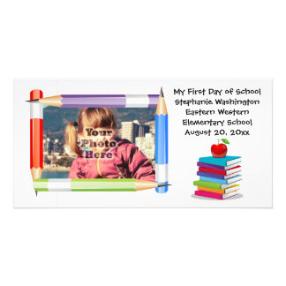 Personalized Children's Kids School Photo Card