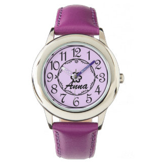 Personalized Children's Name Watch