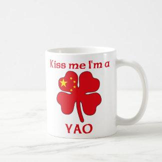 Personalized Chinese Kiss Me I'm Yao Basic White Mug