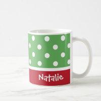 Personalized Christmas Coffee Mug
