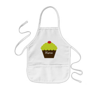 Personalized Christmas Cupcake Apron