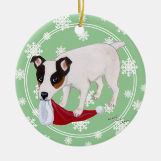 Personalized Christmas Jack Russell Terrier Christmas Ornament