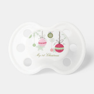 Personalized Christmas Pacifier