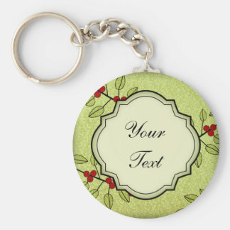 Personalized Christmas Stocking Stuffer Keychain