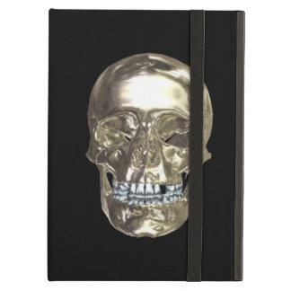 Personalized Chrome Skull iPad Case