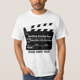 Personalized clapboard template T-Shirt