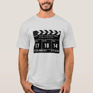 Personalized Clapperboard Classic T-Shirt