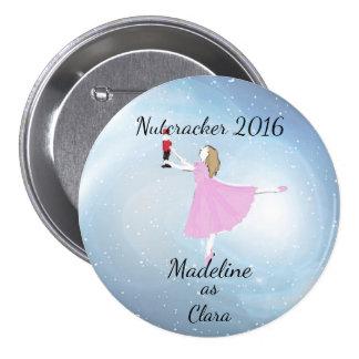 Personalized Clara Ornament 7.5 Cm Round Badge