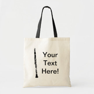 Personalized Clarinet Tote Bag