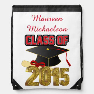 Personalized Class of 2015 Drawstring Backpack