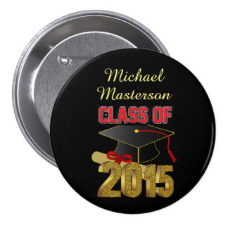 Personalized Class of 2015 Large Button