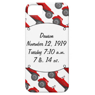 Personalized Classic Baby Boy Stat Gifts iPhone 5 Cases