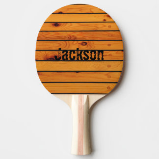 Personalized classic wooden sailboat shipdeck ping pong paddle