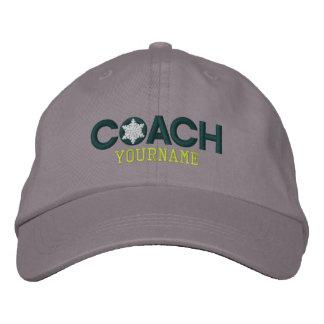 Personalized Coach Snowflakes Embroidered Embroidered Baseball Caps