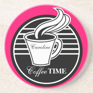Personalized Coffee Cup Drink Coaster