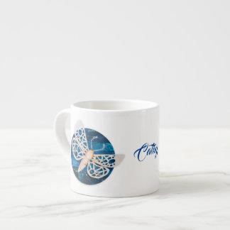 Personalized Coffee Mug with Night Moths