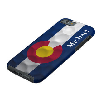 Personalized Colorado Flag Golf Ball Pattern Tough iPhone 6 Case