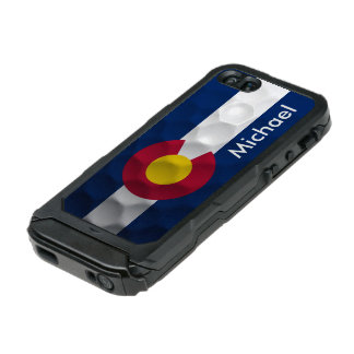Personalized Colorado Flag Golf Ball Pattern Incipio ATLAS ID™ iPhone 5 Case