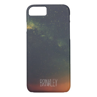 Personalized Colorful Galaxy Cosmos iPhone 7 Case